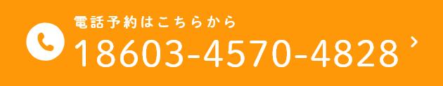 電話予約はこちらから 18603-4570-4828